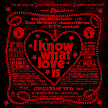 Keith Goodwin with Zac Brown Jason Mraz & Friends – I Know What Love Is (Because of You)