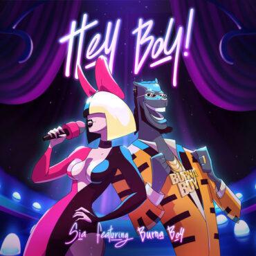 Sia with Burna Boy – Hey Boy